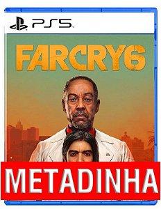 Far Cry 6 - PS5 (pré-venda)  METADINHA - a outra metade você só paga quando o jogo chegar.