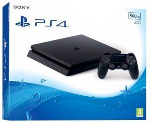 Playstation 4 SLIM 500GB Preto