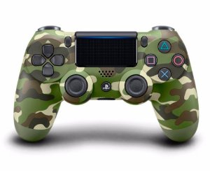 Controle Dualshock 4 - Camuflado Verde