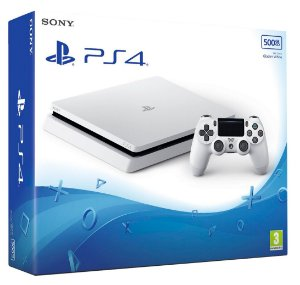 Playstation 4 SLIM 500GB Branco