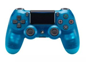 Controle Dualshock 4 Crystal - Azul (Ps4)