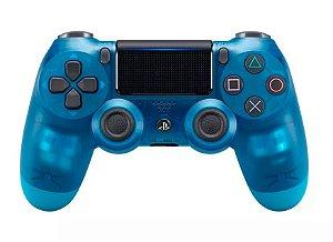 Controle Dualshock 4 Crystal - Azul (Ps4)