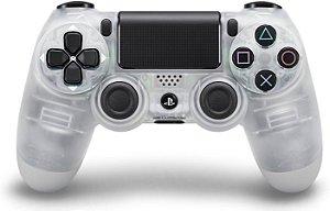 Controle Dualshock 4 Crystal - Branco (Ps4)