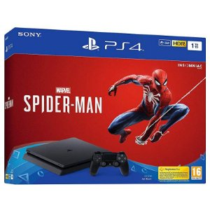 Playstation 4 SLIM 1TB + Jogo Spider-man