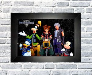 Quadro Kingdom Hearts 3