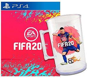 FIFA 20 - PS4 + Brinde Caneca