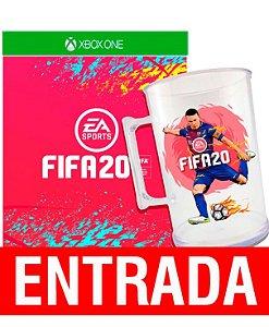FIFA 20 - Xbox One + Brinde Caneca. [ENTRADA] o restante de cem reais você só paga quando o jogo chegar.