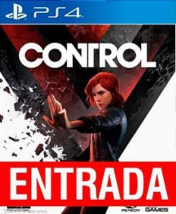Control - PS4 [ENTRADA] o restante de cem reais você só paga quando o jogo chegar.
