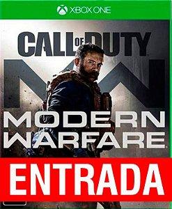 Call of Duty Modern Warfare - Xbox One [ENTRADA] o restante de cem reais vocÊ só paga quando o jogo chegar.