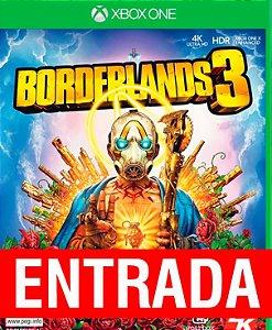 Borderlands 3 - Xbox One - [ENTRADA] o restante de cem reais você só paga quando o jogo chegar.