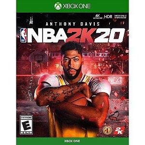 NBA 2K20 - Xbox One [ENTRADA] o restante de cem reais você só paga quando o jogo chegar.