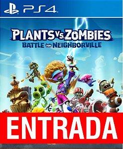 Plants vs Zombies: Battle for Neighborville - PS4 [ENTRADA] o restante de cem reais você só paga quando o jogo chegar.