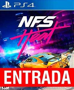 Need for Speed Heat - PS4 (pré-venda) [ENTRADA] o restante de cem reais você só paga quando o jogo chegar.