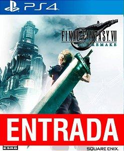 Final Fantasy VII Remake - PS4 (pré-venda) [ENTRADA] o restante de cem reais vocÊ só paga quando o jogo chegar.