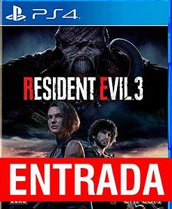 Resident Evil 3 Remake - PS4 (pré-venda) [ENTRADA] o restante de cem reais você só paga quando o jogo chegar.