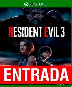 Resident Evil 3 Remake - Xbox One (pré-venda) [ENTRADA] o restante de cem reais você só paga quando o jogo chegar.
