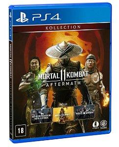 Mortal Kombat 11: Aftermatch - PS4 (pré-venda)