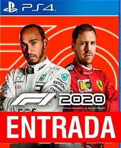Fórmula 1 - 2020 - PS4 (pré-venda) [ENTRADA] o restante de cem reais você só paga quando o jogo chegar.