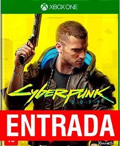 Cyberpunk 2077 - Xbox One (pré-venda) [ENTRADA] o restante de cem reais você só paga quando o jogo chegar.
