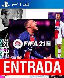 FIFA 21 - PS4 (pré-venda) [ENTRADA] o restante de cem reais você só paga quando o jogo chegar.