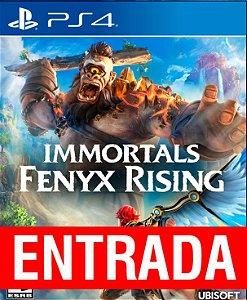 Immortals Fenix Rising - PS4 (pré-venda) [ENTRADA] o restante de cem reais você só paga quando o jogo chegar.