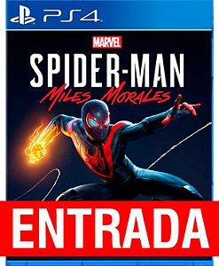 Spider-Man Miles Morales - PS4 (pré-venda) [ENTRADA] o restante de cem reais você só paga quando o jogo chegar.