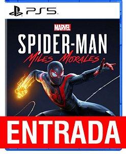 Spider-Man Morales - PS5 (pré-venda) [ENTRADA] o restante de cem reais você só paga quando o jogo chegar.