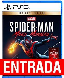 Spider-Man Morales ULTIMATE - PS5 (pré-venda) [ENTRADA] o restante de cem reais você só paga quando o jogo chegar.