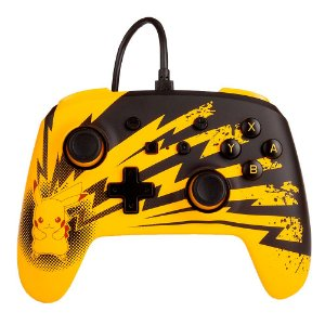 Controle Nintendo Switch PowerA - Pikachu Lightning