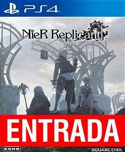 Nier Replicante - PS4 (pré-venda) [ENTRADA] o restante de cem reais você só paga quando o jogo chegar!