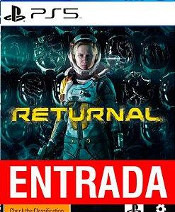 Returnal - PS5 (pré-venda) [ENTRADA] o restante de 140 reais você só paga quando o jogo chegar!