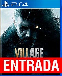 Resident Evil VILLAGE - PS4 (pré-venda) [ENTRADA] o restante de cem reais você só paga quando o jogo chegar.