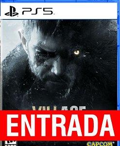 Resident Evil VILLAGE - PS5 (pré-venda) [ENTRADA] a outra metade de 135 reais você só paga quando o jogo chegar.