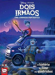 DOIS IRMAOS - UMA JORNADA FANTASTICA - A HISTORIA DO FILME EM QUADRINHOS