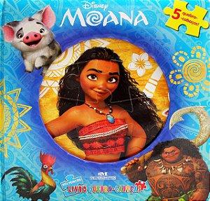 MOANA - MEU PRIMEIRO LIVRO DE QUEBRA CABECA