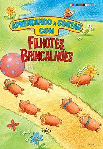 APRENDENDO A CONTAR COM OS FILHOTES BRINCALHOES