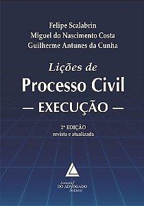 LICOES DE PROCESSO CIVIL - EXECUCAO