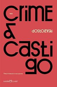 CRIME E CASTIGO - CAPA VERMELHA