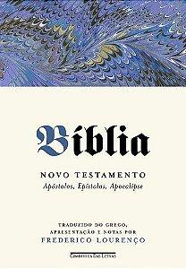 BÍBLIA NOVO TESTAMENTO - APÓSTOLOS, EPÍSTOLAS, APOCALIPSE