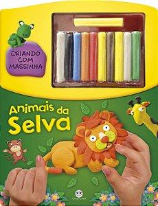 Criando com Massinha - Animais da Selva