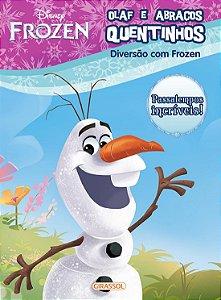 DISNEY - DIVERSAO FROZEN - OLAF ABRACOS QUENTINHOS