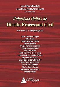 PRIMEIRAS LINHAS DE DIREITO PROCESSUAL CIVIL VOLUME-3