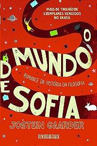 O MUNDO DE SOFIA - CAPA VERMELHA