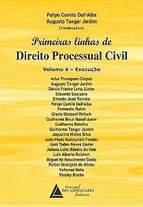 PRIMEIRAS LINHAS DE DIREITO PROCESSUAL CIVIL V-4