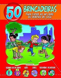 50 BRINCADEIRAS PARA FAZER AO AR LIVRE - VERMELHO