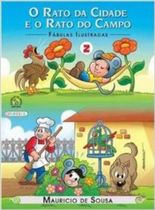 TM - FABULAS ILUSTRADAS - O RATO DA CIDADE E O RAT
