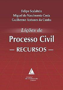 LICOES DE PROCESSO CIVIL - RECURSOS