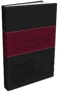 BIBLIA CASAMENTO BLINDADO - CINZA