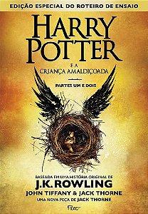 HARRY POTTER E A CRIANCA AMALDICOADA - CAPA DURA