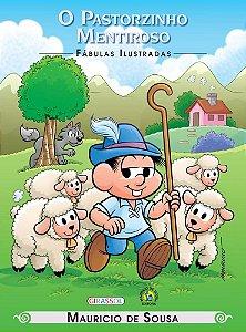 TM - FABULAS ILUSTRADAS - O PASTORZINHO MENTIROSO